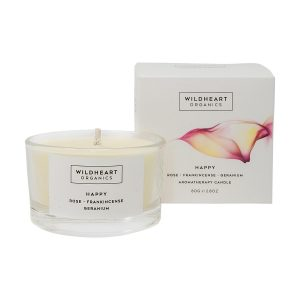 wildheart organics happy candle