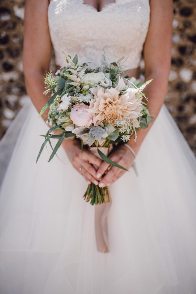 wedding flowers by Blossom and Wild